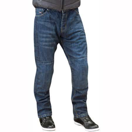 Route One Lenox Huntsman Jeans Straight WR 32in Leg - Blue