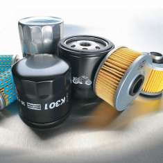 Delo Motorcycle Oil Filter No 8