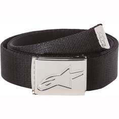 Alpinestars Friction Web Belt 47in - Black Silver