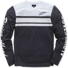 Alpinestars 2 Stroke Knit Long Sleeve T Shirt - Black