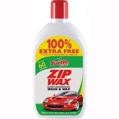 Turtle Wax Zipwax Wash & Wax - 500ml + 500ml