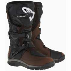 Alpinestars Corozal Adventure Drystar Boots WP - Brown Black