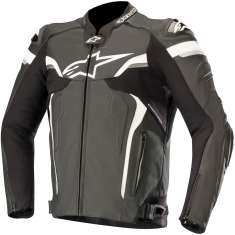 Alpinestars Celer V2 Leather Jacket - Black White