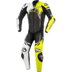 Alpinestars GP Plus Leather Suit V2 1 PC - Black White Yellow