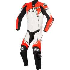 Alpinestars GP Plus Leather Suit V2 1 PC - White Black Red