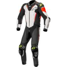 Alpinestars Atem Leather Suit V3 - Black Red Yellow