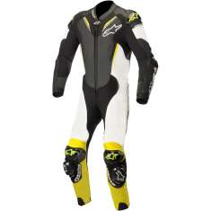 Alpinestars Atem Leather Suit V3 - Black White Yellow