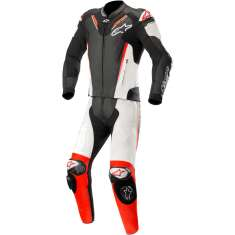 Alpinestars Atem Leather Suit V3 2 PC - Black White Red