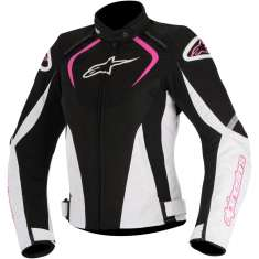 Alpinestars T-Jaws Ladies Jacket WP - Black White Pink