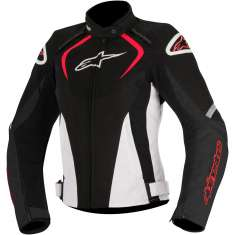 Alpinestars T-Jaws Ladies Jacket WP - Black White Red