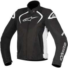 Alpinestars T-Jaws Ladies Jacket WP - Black White
