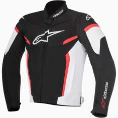 Alpinestars T-GP R Plus Jacket V2 - Black White Red