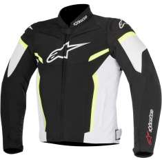 Alpinestars T-GP R Plus Jacket V2 - Black White Yellow
