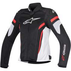 Alpinestars Stella T-GP Plus R Jacket Ladies V2 Air - Black White Red
