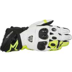 Alpinestars GP Pro R2 Gloves - Black White Yellow