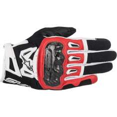 Alpinestars SMX-2 Air Carbon Gloves V2 - Black Red White