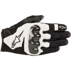 Alpinestars SMX-1 Gloves V2 Air - Black White