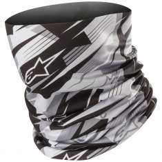 Alpinestars Blurred Neck Tube - Black Anthracite