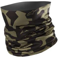 Alpinestars Camo Neck Tube - Khaki Black