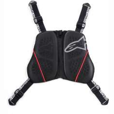 Alpinestars Nucleon KR-C Chest Protector - Black White Red