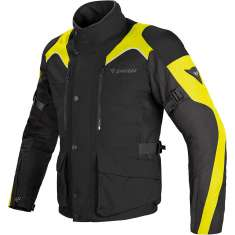 Dainese Tempest Jacket D-Dry WP - Black Yellow