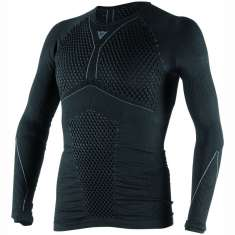 Dainese D-Core Thermo Long Sleeve Tee - Black Grey