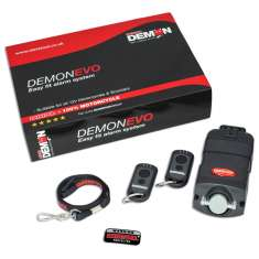 Datatool Demon Evo Compact Self Fit Alarm - Black
