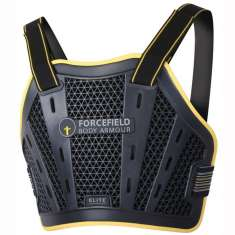 Forcefield Chest Protector Level 1 Elite - Black Yellow