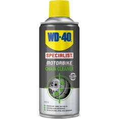 WD40 Specialist Motorbike Chain Cleaner 400ml Clear