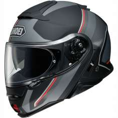 Shoei Neotec 2 Excursion TC5 Helmet - Matt Black Grey Red
