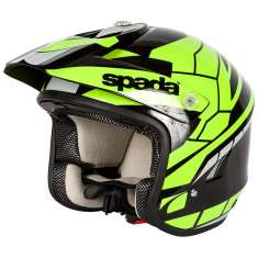 Spada Edge Chaser Helmet - Black Yellow