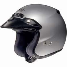 Shoei Helmet RJ Open Face Silver