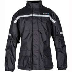 Spada Aqua-Quilt Scooter Jacket WP - Black
