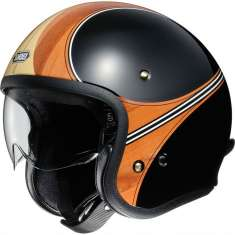 Shoei J-O Helmet Waimea TC-10 - Black Beige