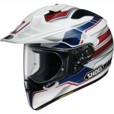 Shoei Hornet ADV Helmet Navigate TC-2 - White Red Blue