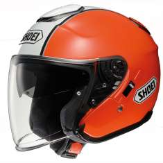 Shoei J-Cruise Helmet Corso TC8 - White Orange