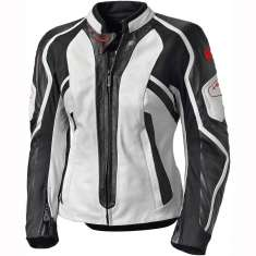 Held Leather Jacket Namiko 5541 Ladies - White Black