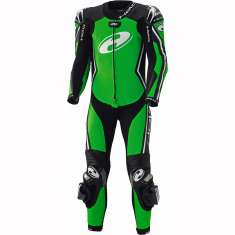 Held 5612 Full-Speed 1 Piece Leather Suit - Black Green