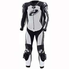 Held 5612 Full-Speed 1 Piece Leather Suit Ladies - White Black