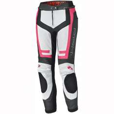 Held 5850 Rocket 3.0 Leather Trousers Ladies - Black White Pink