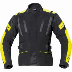Held 6023 4-Touring Jacket WP - Black Yellow