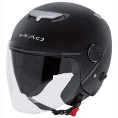Held Motorcycle Jet Helmet City Scape 7470 - Black