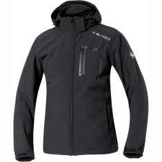 Held Hoodie Softshell Casual Jacket Mens 9490 - Black