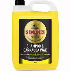 Simoniz Wash And Carnauba Wax Car Motorcycle Van - 5 Litres