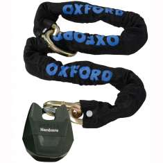 Oxford Hardcore Loop Chain Padlock - 1.5m
