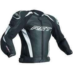 RST Tractech Evo III Leather Jacket 2051 CE - Black White