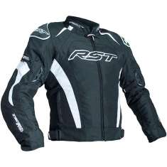 RST Tractech Evo III Jacket 2060 CE WP - Black White