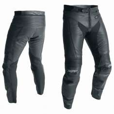 RST R-18 Leather Trousers 2070 CE - Black