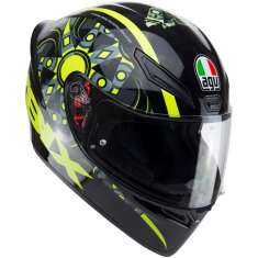 AGV K1 Flavum 46 Helmet - Black Yellow