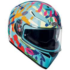 AGV K-3 SV Misano 2014 Helmet - Blue Red Orange